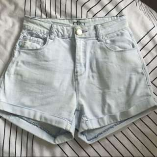 High Waisted Shorts Size 6-8