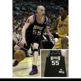 美國 NBA Adidas Hardwood Classics  Swingmen Kings Jason Williams 沙加緬度 國王隊 復古球衣 運動背心 白色巧克力 J-will j-Dub 摩術師 助功王