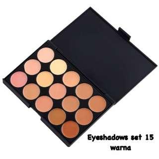 Eyeshadows Set 15 Warna