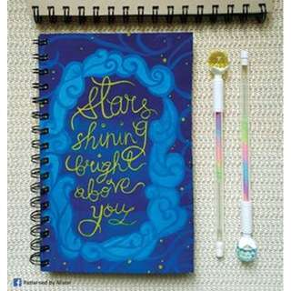 Custom Notebook - Dream A Little Dream