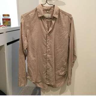 Cool Hemp Shirt From Japan