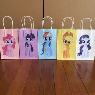 My Little Pony Handmade Paper Bag/ Party Bag