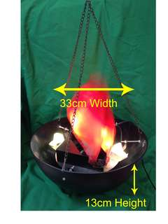 Cheap Halloween Fire Lamp.(Great For Retail,Parties,Events)