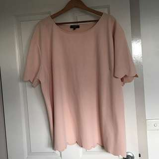 PLUS SIZE PINK TOP - Size 28