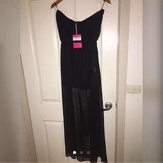 SIZE 16 Boohoo Maxi Dress
