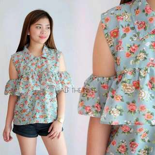 Floral Batiste Ruffles From HtP