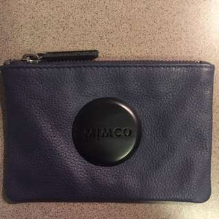 MIMCO Navy Blue Pouch