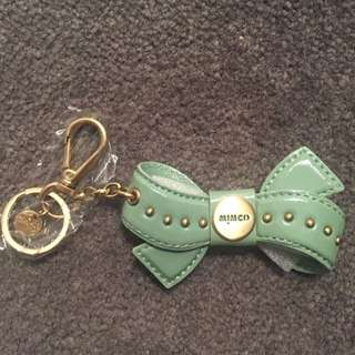 MIMCO spearmint Bow Keyring
