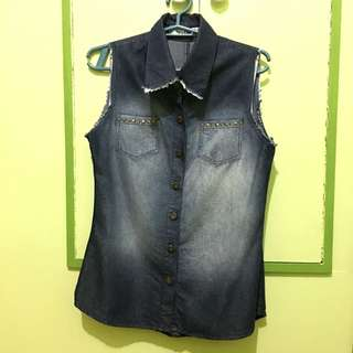 Next Denim Top