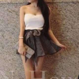 平口連身洋裝