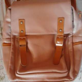 HIGH QUALITY Leather Bag // Backpack RUSH SALE
