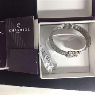 Authentic Charriol Heart2heart Bangle