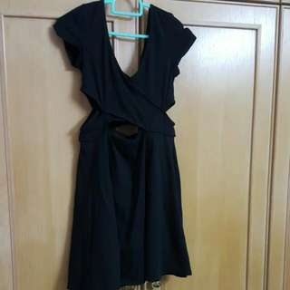 H&M Criss Cross Cut Out Dress