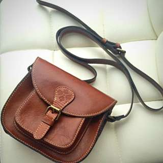 Italian Small Leather Bag