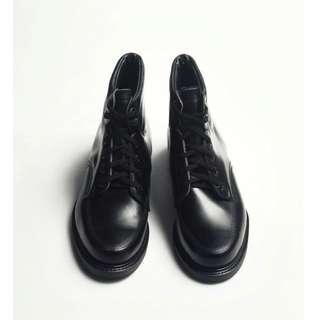 70s 美製黑色工作踝靴|Knapp 6-eye Work Boots US 8D EUR 40 -Deadstock