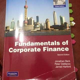 Fundamentals Of Corporate Finanace