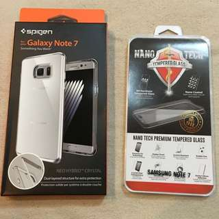 Note 7 Neo Hybrid Crystal - Silver (new)