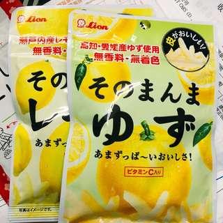 🚚 10/18寄出🇯🇵日本代購✨我自己非常愛的柚子皮‼️‼️預購