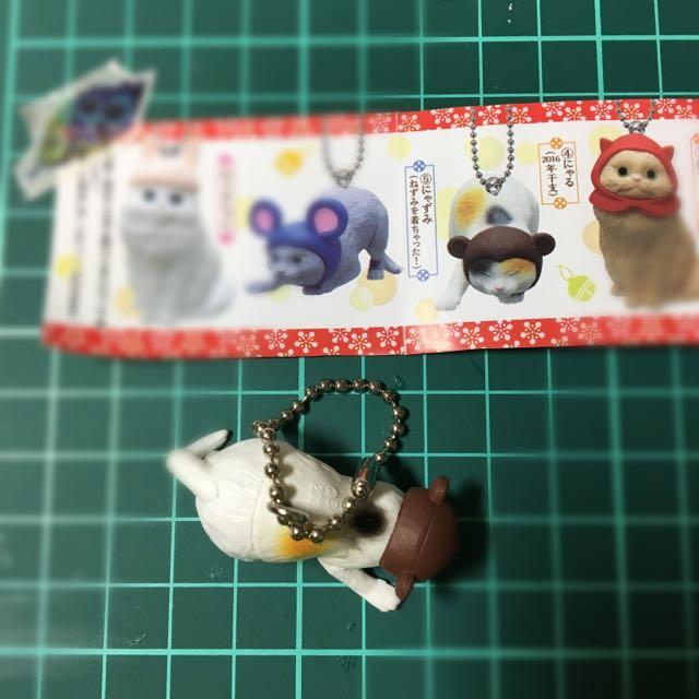 日本 扭蛋 貓咪