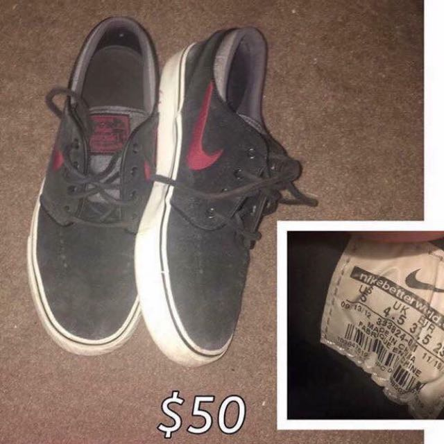 Authentic Nikes Negotiable