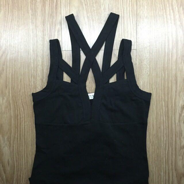 Bershka Strappy Body Suit
