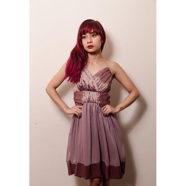 Brown Cocktail Dress