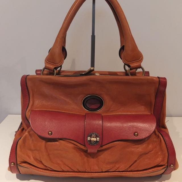 Chloe Camel Leather Bag