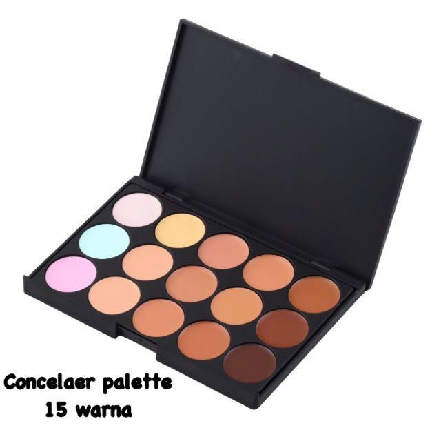 Concealer Palette 15 Warna