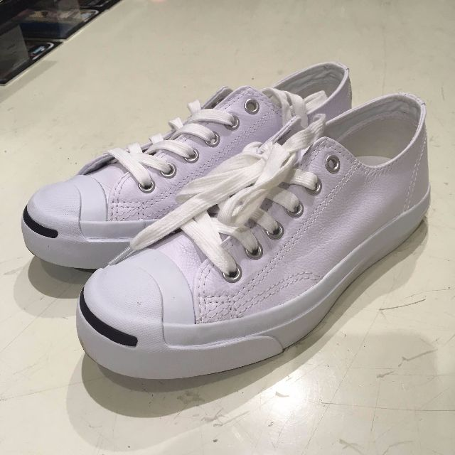 b704fd391df8d6 Converse Jack Purcell WHITE LEATHER Unisex Sneakers