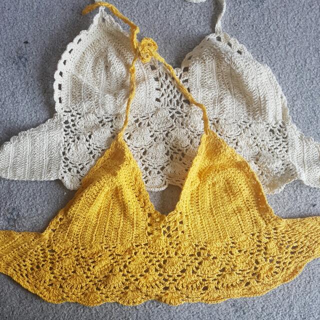 Crotchet Festival Bra Top Bikini