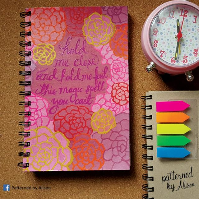 Custom Notebook - La Vie En Rose