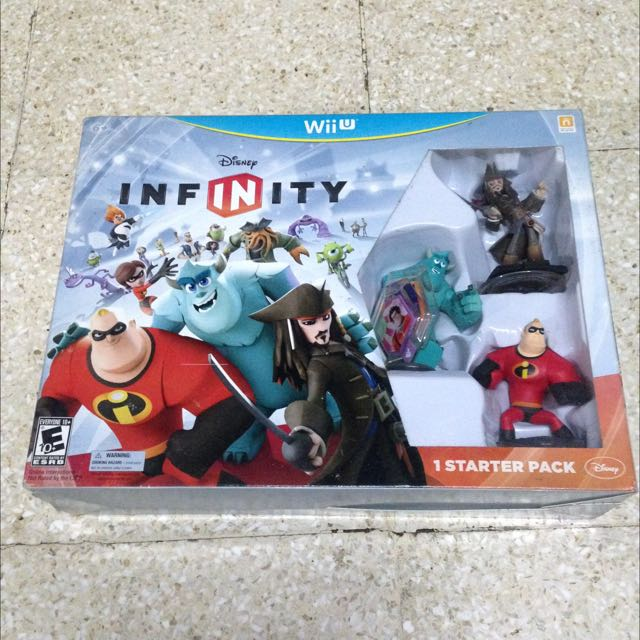 Disney Starter Pack 1.0 For WiiU
