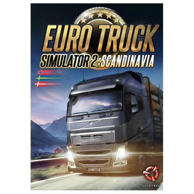 Euro Truck Simulator 2 Scandinavia PC Games || 1 DVD