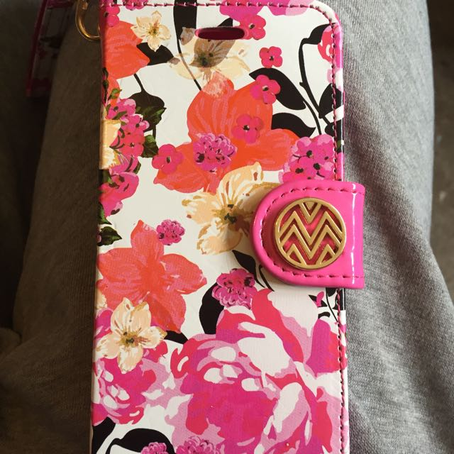 Floral Wallet Case For iPhone 6/6s