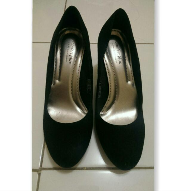 High Heels Black Comfort Plus