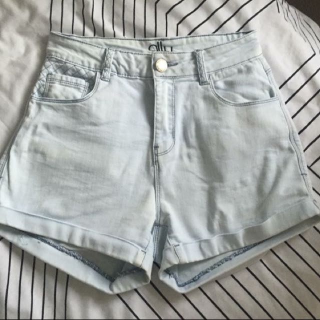 High Waisted Shorts Size 6-8