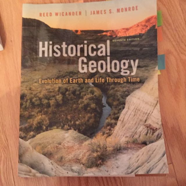 Historical geology Textbook 7th Edition