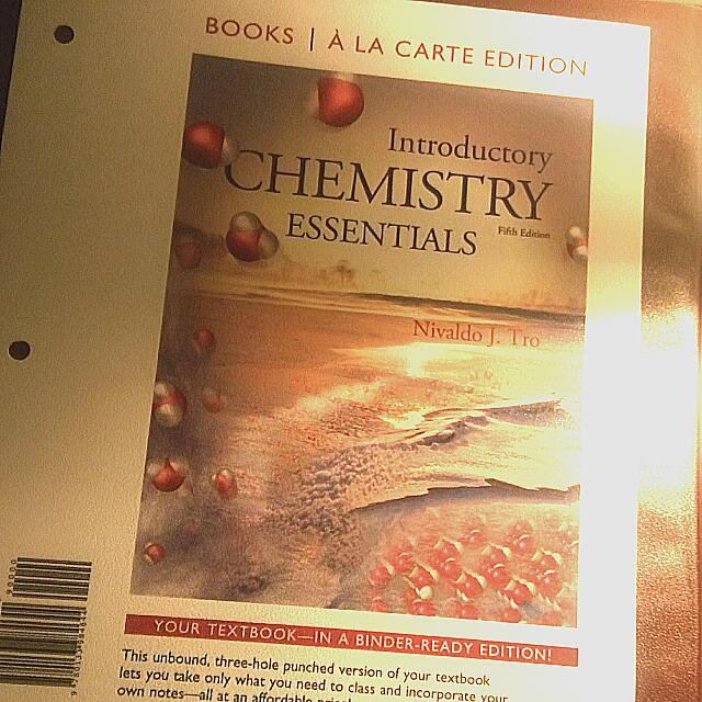 Introductory Chemistry Essentials, 5th edition