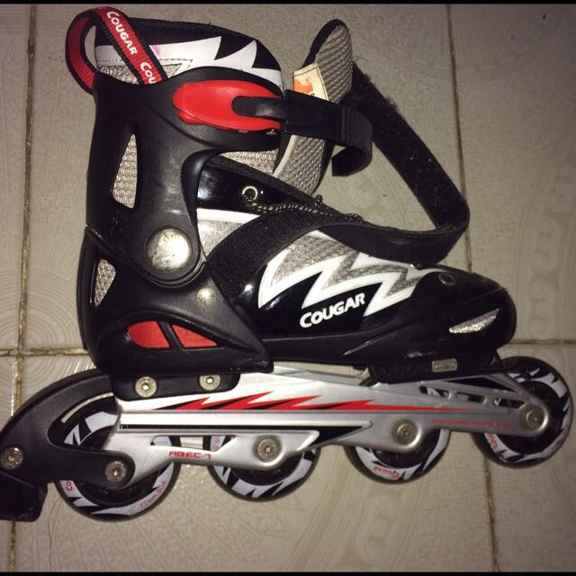 Jual Sepatu Roda Inline Skate Cougar 6641e0c601