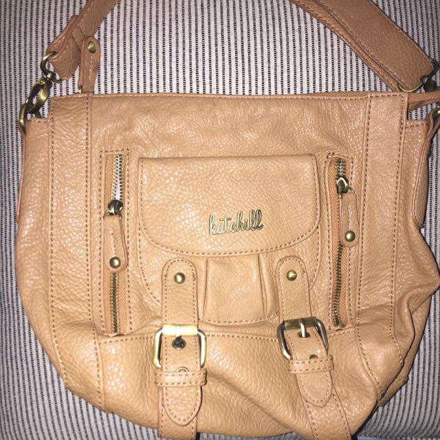 Kate Hill Brown Shoulder Bag