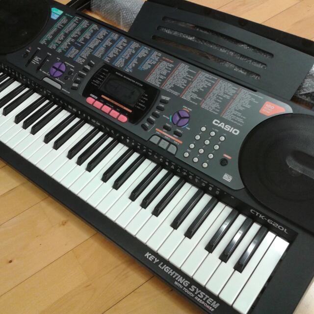Casio CTK-620L Keyboard
