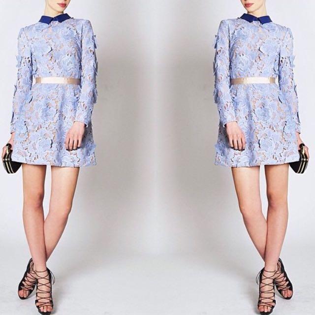 lace dress (baru)