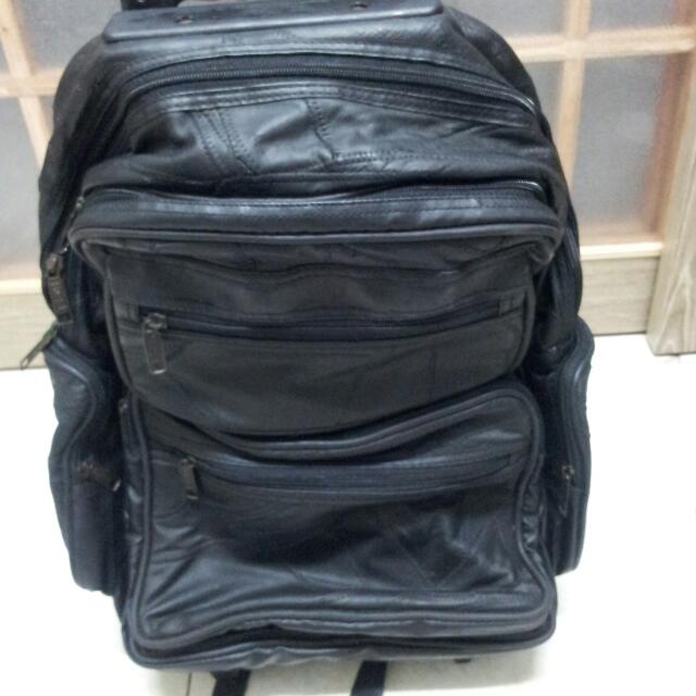 Leather Traveling Bag