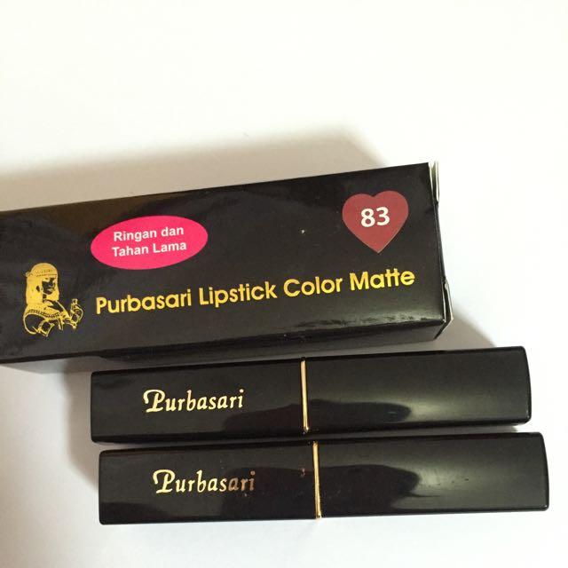 Lipstick Purbasari No 83