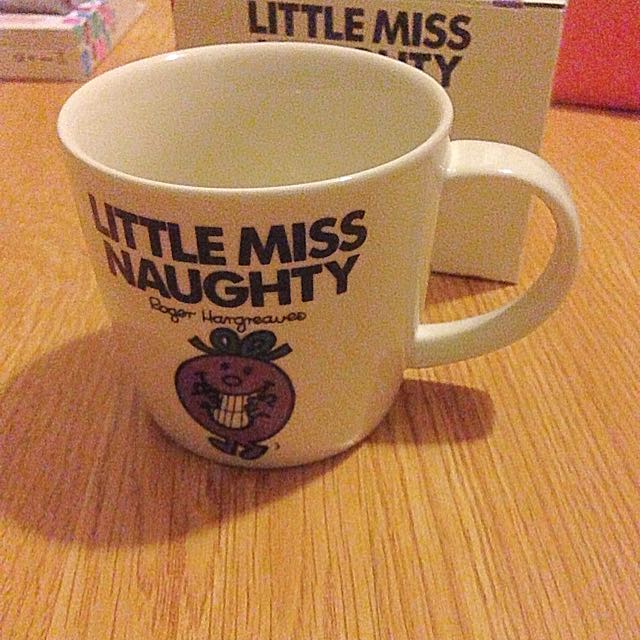 Little Miss Naughty Authentic Ceramic Cup