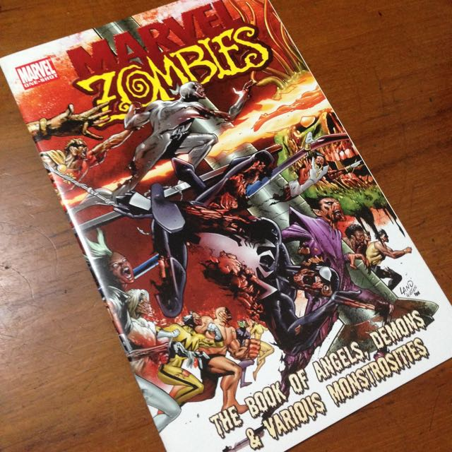 Marvel Zombie (books Of Demon And Angel)