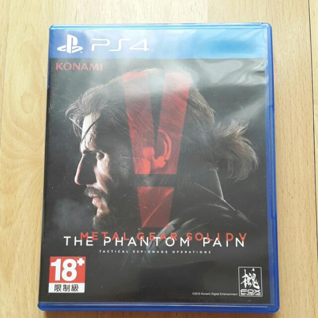 (BOOKED) Metal Gear Solid V: The Phantom Pain