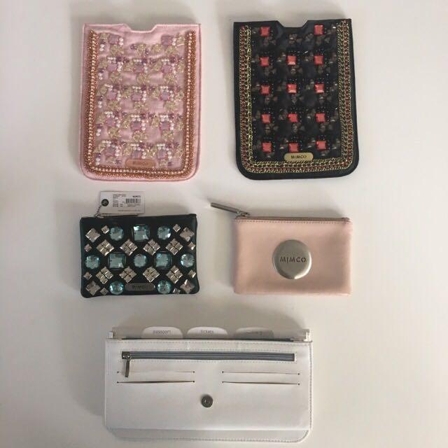 Mimco Purses, Pouches, Cases, Travel Wallet