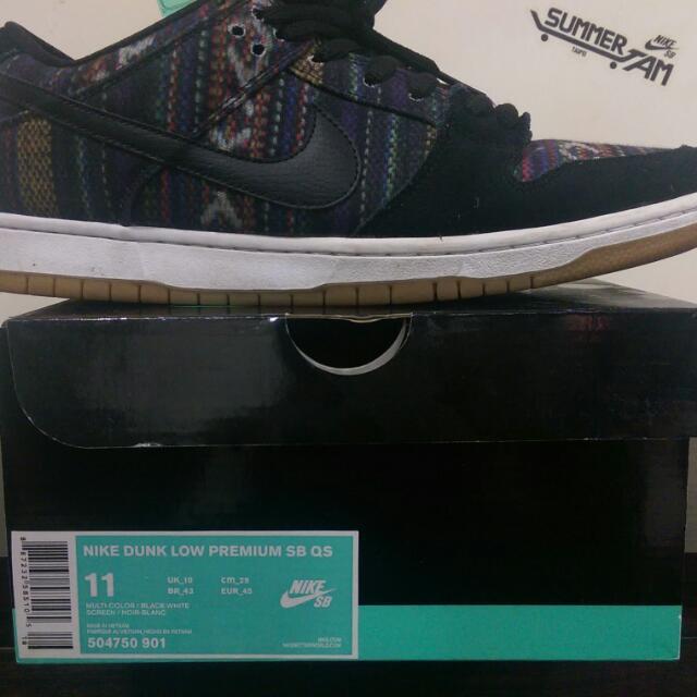 Nike SB 民俗風