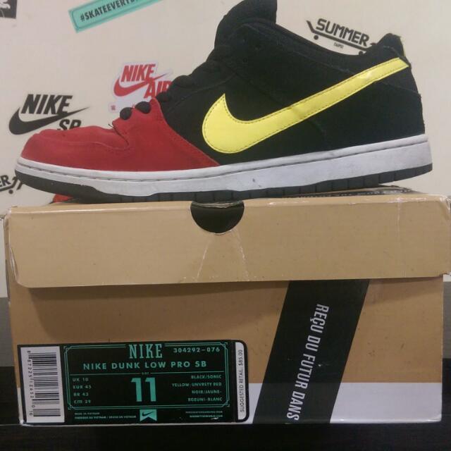 Nike SB 紅頭